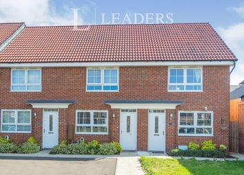 Thumbnail 2 bed town house to rent in Woodward Drive, Warwick
