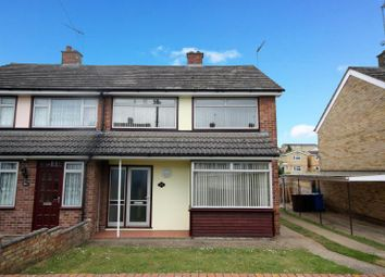 Thumbnail 3 bedroom semi-detached house to rent in Bridgewater Road, Ipswich, Suffolk