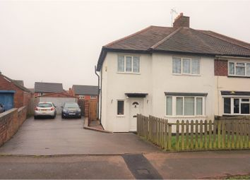 Thumbnail 5 bed semi-detached house for sale in Manor Road, Tamworth