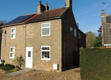 Thumbnail 3 bed semi-detached house for sale in Thorpland Lane, Runcton Holme, King's Lynn