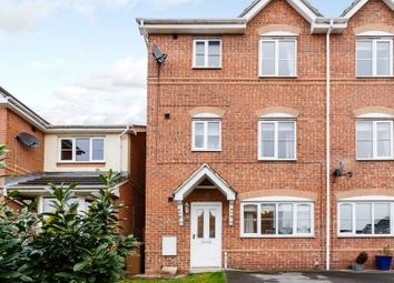 Thumbnail 4 bed town house for sale in Oldfield Close, Ossett, West Yorkshire