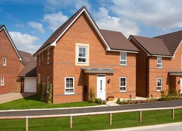 "Thumbnail 4 bed detached house for sale in ""Alderney"" at Newton Lane, Wigston"