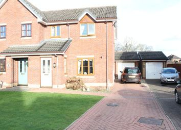Thumbnail 3 bed semi-detached house for sale in Charles Parry Close, Oswestry