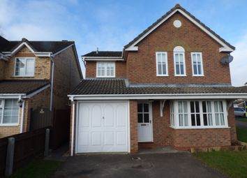 Thumbnail 4 bed detached house to rent in Oxford Close, Mildenhall, Bury St. Edmunds