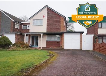Thumbnail 3 bed detached house for sale in Allendale Road, Walmley, Sutton Coldfield