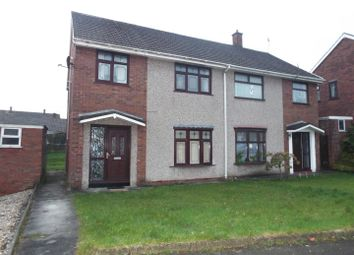 Thumbnail 3 bed semi-detached house for sale in Gorsedd, Llanelli