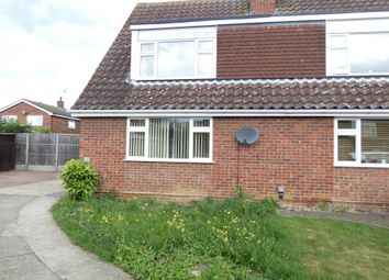 Thumbnail 3 bed semi-detached house to rent in Dewlands, Oakley, Bedford