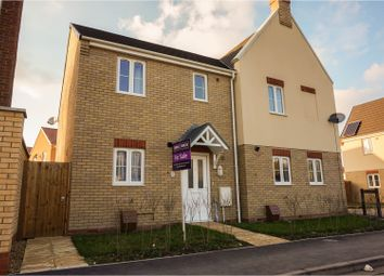Thumbnail 2 bed terraced house for sale in Windmill Street, Peterborough