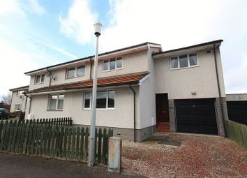 Thumbnail 3 bed semi-detached house for sale in 29 Birch Place, Culloden, Inverness.