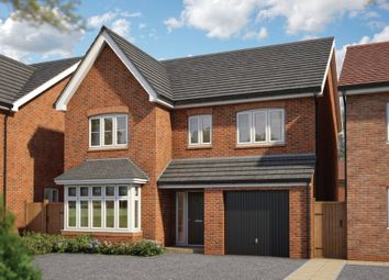 "Thumbnail 4 bed detached house for sale in ""The Alder"" at Silverwoods Way, Kidderminster"