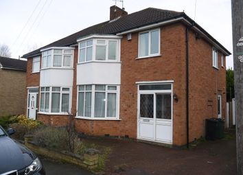 Thumbnail 3 bed semi-detached house to rent in Rosemead Drive, Leicester