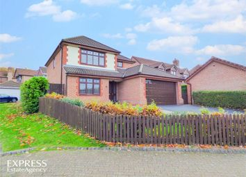 Thumbnail 4 bed detached house for sale in Broadfields, Runcorn, Cheshire