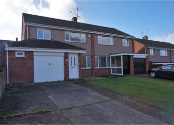 Thumbnail 3 bed semi-detached house for sale in Quarry Lane, Exeter