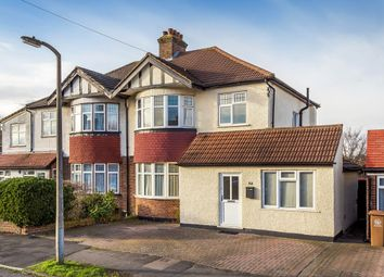 Thumbnail 3 bed semi-detached house for sale in Buxton Crescent, Cheam, Sutton