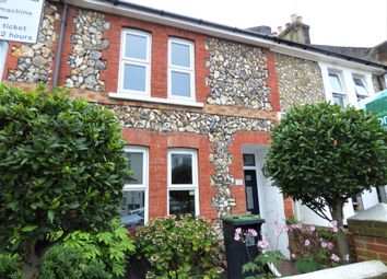 Thumbnail 3 bed terraced house to rent in Milton Street, Worthing