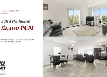 Thumbnail 2 bed penthouse to rent in Taywood Road, Northolt