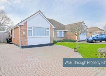 Thumbnail 3 bed semi-detached bungalow for sale in Ditchling Way, Hailsham
