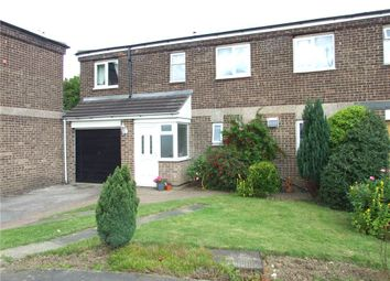 Thumbnail 3 bed town house for sale in Harlech Close, Spondon, Derby