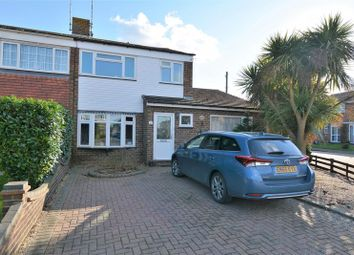 Thumbnail 4 bed semi-detached house for sale in Conway Avenue, Great Wakering, Southend-On-Sea