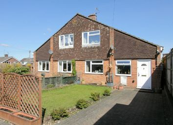 Thumbnail 2 bed semi-detached house for sale in Barcelona Close, Andover