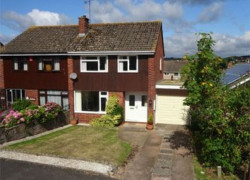 Thumbnail 3 bed semi-detached house for sale in Walton Road, Broadfields, Exeter, Devon