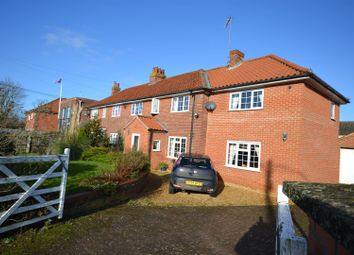 Thumbnail 4 bed semi-detached house for sale in Manor Road, Dersingham, King's Lynn