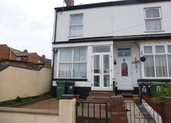 Thumbnail 3 bedroom end terrace house for sale in Countess Street, Walsall