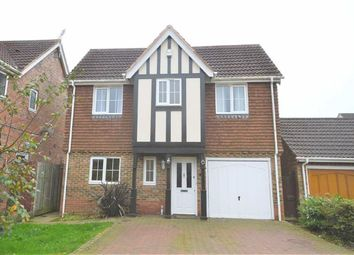 Thumbnail 4 bed detached house to rent in Haywain Close, Ashford, Kent