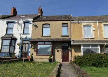 Thumbnail 3 bed terraced house for sale in Vicarage Road, Morriston, Swansea.
