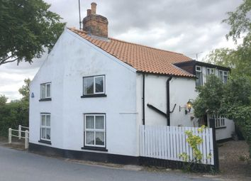 Thumbnail 3 bed cottage for sale in Back Street, Burton Fleming, Driffield