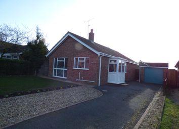 Thumbnail 2 bed detached bungalow to rent in Hemmant Way, Gillingham, Beccles