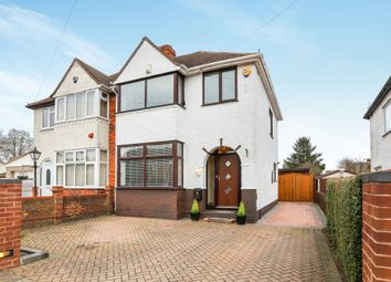 Thumbnail 3 bedroom semi-detached house for sale in Hollybush Road, Luton