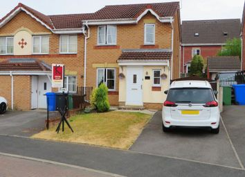 Thumbnail 3 bed semi-detached house for sale in Overton Close, Radcliffe