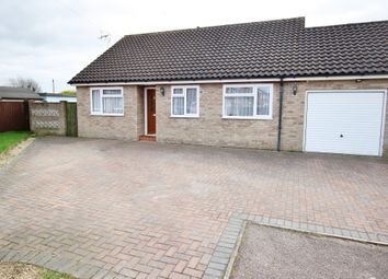 Thumbnail 3 bed detached bungalow for sale in Mortimer Close, Attleborough