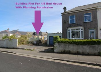 Thumbnail Land for sale in York Road & Plot, Torpoint