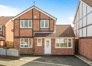 Thumbnail 4 bed detached house for sale in Willow Coppice, Lea, Preston