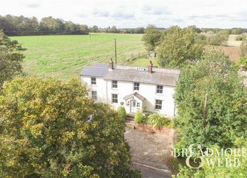 Thumbnail 4 bed detached house for sale in Belchamp St Paul, Sudbury, Suffolk