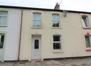 Thumbnail 3 bed terraced house to rent in Railway Terrace, Abercarn, Newport