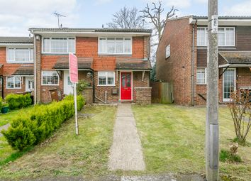 Thumbnail 2 bed semi-detached house for sale in Bentley Close, Chatham