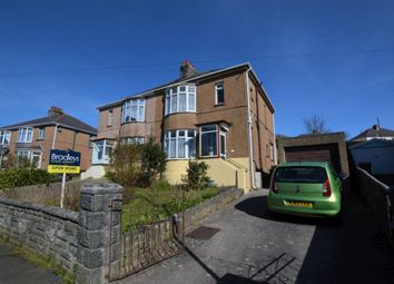 Thumbnail 3 bed semi-detached house for sale in Oakfield Road, Plymouth, Devon