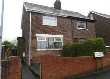 Thumbnail 2 bedroom semi-detached house for sale in 54, Prestwick Park, Belfast