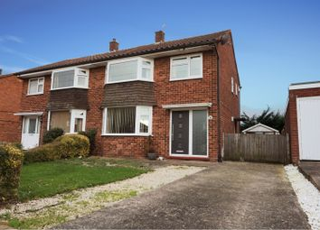 Thumbnail 3 bed semi-detached house for sale in Whitemere Road, Shrewsbury