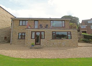 Thumbnail 4 bed detached house for sale in Hey Cliff Road, Holmfirth