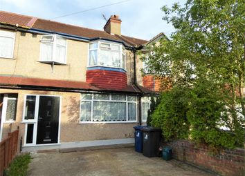 Thumbnail 3 bed terraced house to rent in Lynmouth Road, Perivale, Greenford, Greater London