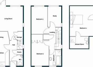 Thumbnail 4 bedroom semi-detached house for sale in The West Trees, Beauharrow Road, St. Leonards-On-Sea, East Sussex