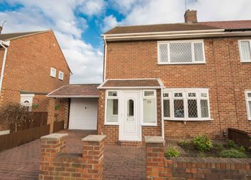 Thumbnail 2 bed semi-detached house for sale in Hill View Road, Sunderland