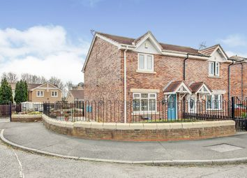 Thumbnail 2 bed semi-detached house for sale in Braydon Drive, North Shields, Tyne And Wear