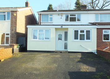 Thumbnail 3 bed semi-detached house to rent in Swanswell Road, Solihull