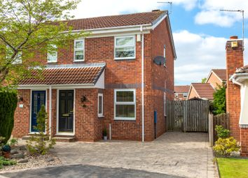 Thumbnail 2 bed semi-detached house for sale in Elwick Grove, York
