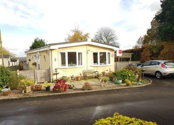 Thumbnail 2 bed mobile/park home for sale in Agden Brow Park, Agden Brow, Lymm, Cheshire